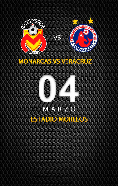 Monarcas vs Veracruz